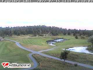Webbkamera/Golfkamera hos Fågelbro Golf Club